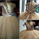Нарядное платье Золотце
