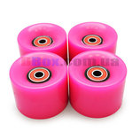 Колеса для Пенни борда CLASSIC розовые полиуретановые 60 х 40 мм. 1 шт,Киев