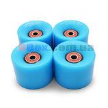 Колеса для Пенни борда CLASSIC голубые полиуретановые 60 х 40 мм. 1 шт,Киев