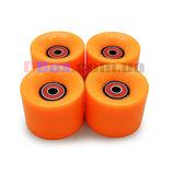 Колеса для Пенни борда CLASSIC оранжевые полиуретановые 60 х 40 мм. 1 шт,Киев