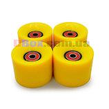 Колеса для Пенни борда CLASSIC желтые полиуретановые 60 х 40 мм. 1 шт, Киев