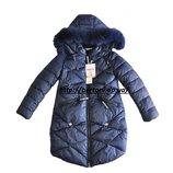 Пальто зимнее Ohccmith для девочки зима 177