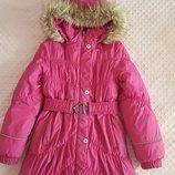 Lenne , зимнее пальто , б/у. р .140