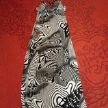 Длинное платье с чашечками, микромасло