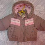 Новая Демисезонная курточка для малышки NEXT 6-9 мес. Сток