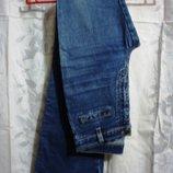 Джинсы р. 28, 30 LEE, брюки женские оригинальные, фирма стрейчевые, в наличии 2 размера