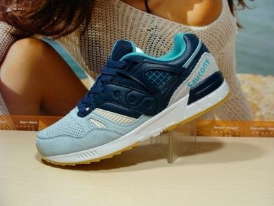 Женские кроссовки Saucony Grid сине-бирюзовый -36р-41р