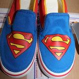Оригинальные кеды crocs крокс Superman, размер J3, стелька 22, 5 см