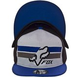 Модная кепка с прямым козырьком и с логотипом Fox в разных цветах