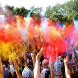 Краска Холи Гулал , Фарба Холі, набір 10 кольорів по 50 грам