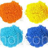 Краска Холи Гулал , Фарба Холі, набір 12 кольорів по 50 грам