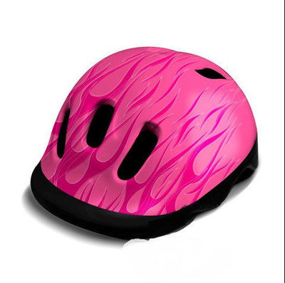 Детский шлем Flames - Weeride - Нидерланды - Размер XXS 44-48 cm, 190 гр, 5 отверстий Розовый, Киев