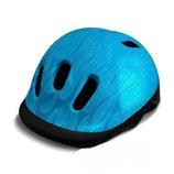 Детский шлем Flames - Weeride - Нидерланды - Размер XXS 44-48 cm, 190 гр, 5 отверстий Голубой,киев