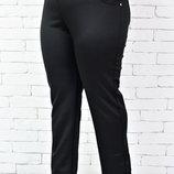 Женские брюки супер большого размера, на флисе и без, 58-70рр
