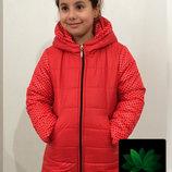 Детская зимняя курточка турция много цветов распродажа
