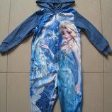 флисовый человечек.пижама Фрозен Холодное сердце 2-3г. 92-98см Marks & Spencer