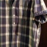 рубашка мужская шведка размер XXL модная клетка
