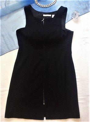 Шерстяное плотное платье на молнии