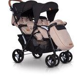 Прогулочная коляска для двойни или погодок EasyGo Fusion