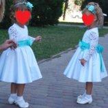 нарядное платье Малышка с длинным рукавом