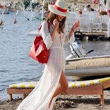 Пляжное платье длинное , туника AL7013