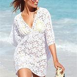 Пляжное платье , туника в цветы AL7015