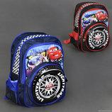 Рюкзак школьный 555-388 ТАЧКИ