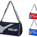 Сумка спортивная Zelart 4124, 3 цвета 39х29х21см