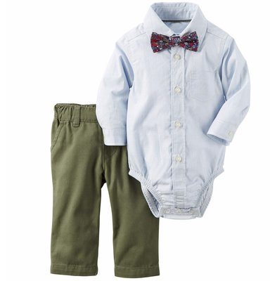 10c69bea5fec1 Стильный нарядный комплект с бабочкой для мальчика Картерс 6.9,24м carters