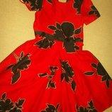 Яркое платье Лав Некст 10л