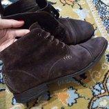 Крутые замшевые ботинки Rockport adiprene by Adidas, размер 43