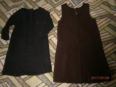 Платье и сарафан в школу-116-130см рост
