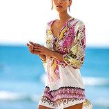 Пляжное платье с рисунком туника AL7022