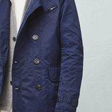 Мужская куртка ветровка пиджак, мужской тренч, тренчкот, полупальто, пальто XXL 2XL наш 56-58