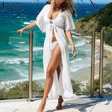 Пляжное платье длинное 2 цвета AL7305