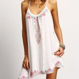 Пляжное платье на завязку AL7300