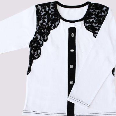 Блуза школьная рост 116-152