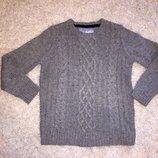 Фирменный свитер Rebel на 7-8 лет рост 128 см.