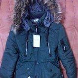 Зимняя куртка парка на мальчика. Р. 26-36. Опт и розница