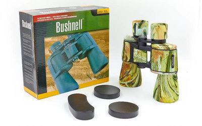 Бинокль Bushnell 1507 с чехлом кратность 20х, диаметр объектива 50мм