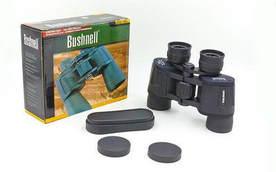 Бинокль Bushnell -335 с чехлом кратность 20х, диаметр объектива 35мм