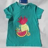 футболка для девочки на 5 - 6 лет. Lupilu рост 110 -116 см. Германия