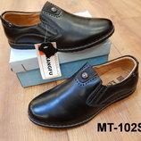 Кожаные классические туфли детские для школы 34 - 35 рр