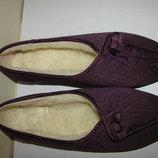 Тапочки брендові теплі на хутрі Оригінал Сopyright р.5 стелька 24,5 см .