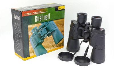Бинокль Bushnell 1101 с чехлом кратность 50х, диаметр объектива 50мм