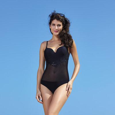 394da2d518aa8 Цельный черный купальник с пуш ап: 750 грн - слитные купальники и ...