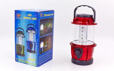 Фонарь кемпинговый светодиодный переносной 8806 12 LED ламп, размер 17,5х8,5см
