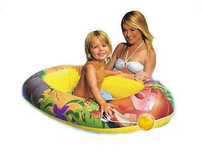 Детская Надувная Лодка КОРОЛЬ Лев Intex 58385