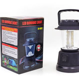 Фонарь кемпинговый светодиодный переносной 802 16 LED ламп, размер 18х11см