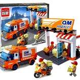 Конструктор Служба доставки 337деталей Brick Enlighten Express 1119 почта